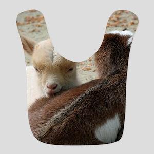 Goat 001 Polyester Baby Bib
