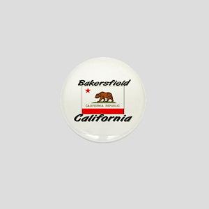 Bakersfield California Mini Button