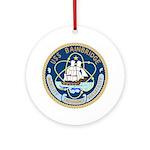 USS Bainbridge (DLGN 25) Ornament (Round)