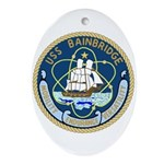USS Bainbridge (DLGN 25) Oval Ornament