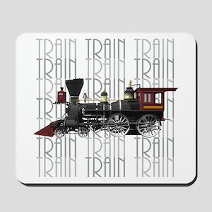 Train Lover Mousepad