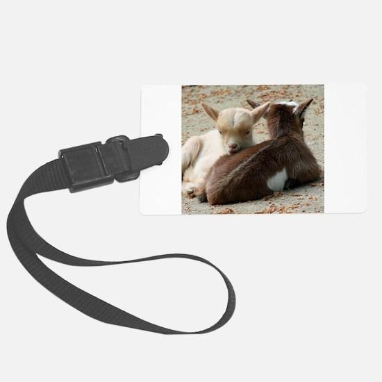 Goat 001 Luggage Tag