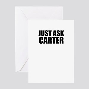 Just ask CARTER Greeting Cards