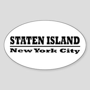 Staten Island Oval Sticker