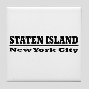 Staten Island Tile Coaster