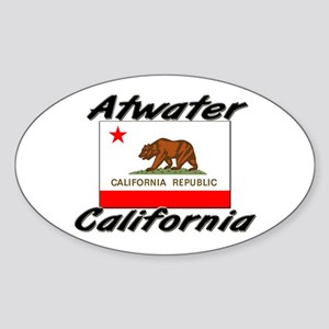 Atwater California Oval Sticker