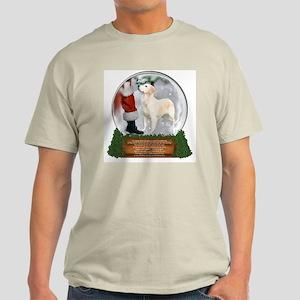 Golden Snow Globe Light T-Shirt