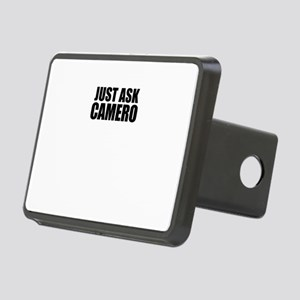 Just ask CAMERO Rectangular Hitch Cover