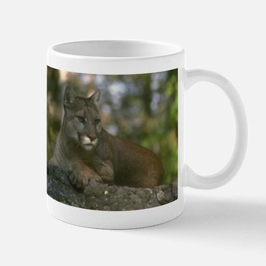 Large Mountain Lion Mugs