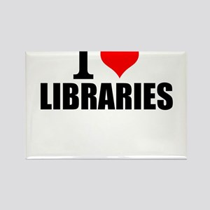 I Love Libraries Magnets