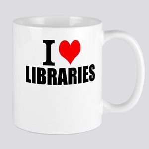 I Love Libraries Mugs