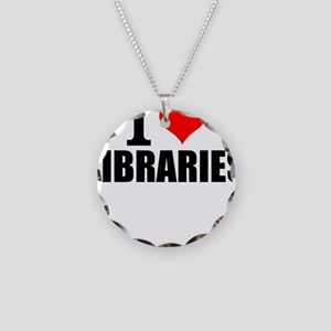 I Love Libraries Necklace