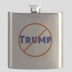 Anti Trump! No Trump Flask