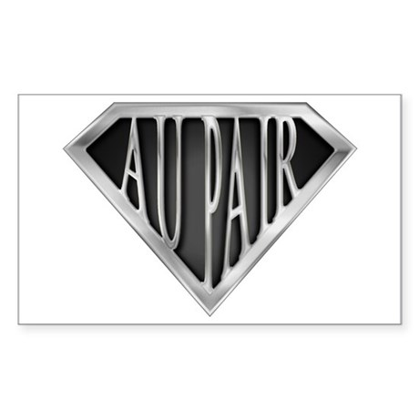 SuperAu Pair(metal) Rectangle Sticker