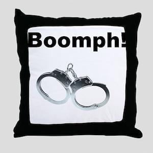 Boomph! Throw Pillow