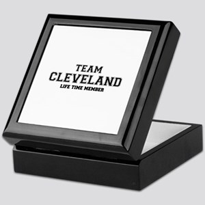Team CLEVELAND, life time member Keepsake Box