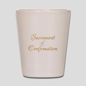 Sacrament of Confirmation Shot Glass