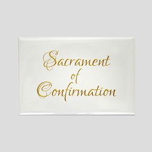 Sacrament of Confirmation Rectangle Magnet