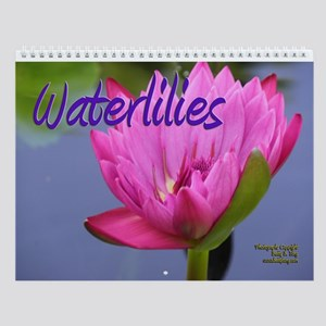 Waterlilies Wall Calendar