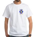 Shuldam White T-Shirt