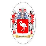 Shtrauss Sticker (Oval 50 pk)