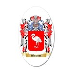 Shtrauss 35x21 Oval Wall Decal