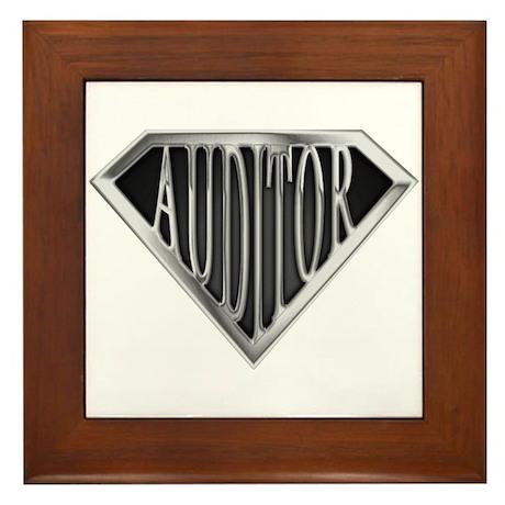 SuperAuditor(metal) Framed Tile