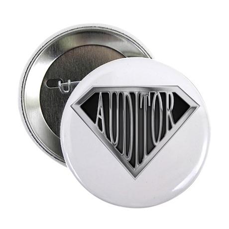 "SuperAuditor(metal) 2.25"" Button (100 pack)"