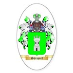 Shrapnel Sticker (Oval)