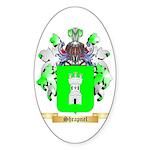 Shrapnel Sticker (Oval 50 pk)