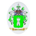Shrapnel Oval Ornament