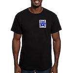 Shortt Men's Fitted T-Shirt (dark)