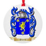 Shortt Round Ornament