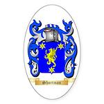 Shortman Sticker (Oval)