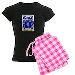 Shorter Women's Dark Pajamas