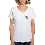 Shore Women's V-Neck T-Shirt