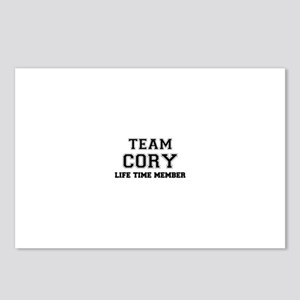 Team CORY, life time memb Postcards (Package of 8)