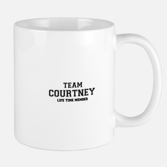 Team COURTNEY, life time member Mugs