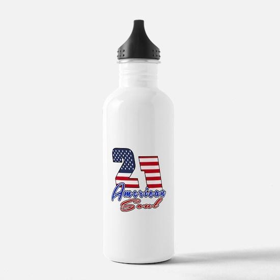 21 American Soul Birth Water Bottle