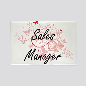 Sales Manager Artistic Job Design with But Magnets