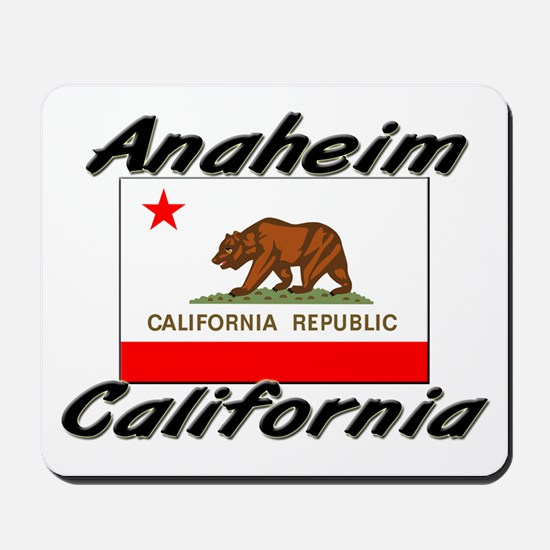 Anaheim California Mousepad