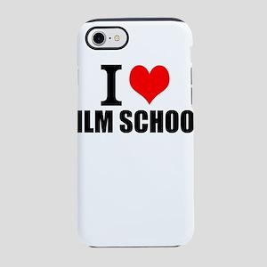 I Love Film School iPhone 8/7 Tough Case