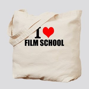 I Love Film School Tote Bag