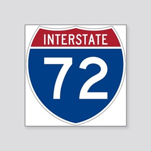 Interstate 72 Sticker