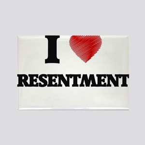 I Love Resentment Magnets