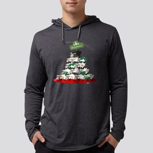 Funny Sheep Christmas Tree Long Sleeve T-Shirt