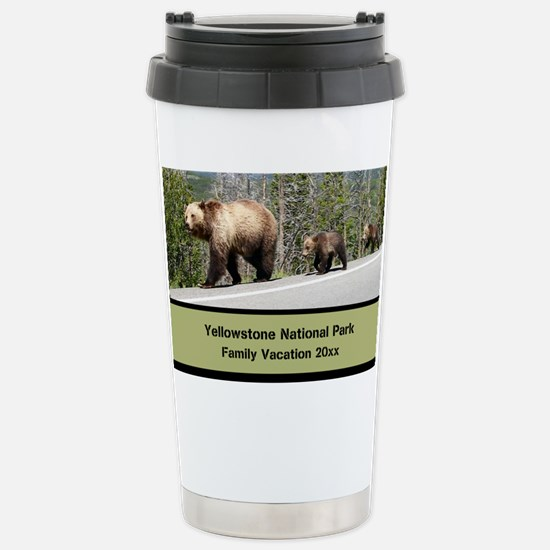 Yellowstone Family Vacation Custom Souvenir Travel