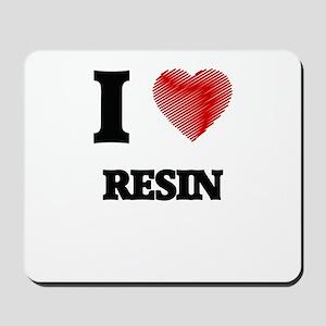 I Love Resin Mousepad