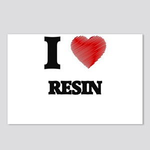 I Love Resin Postcards (Package of 8)