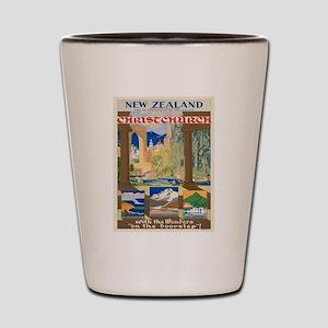 Vintage poster - Christchurch Shot Glass